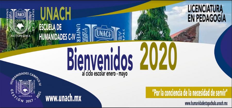 Bienvenidos al Ciclo Escolar Enero-Mayo 2020